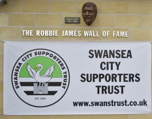 Robbie James Wall of Fame