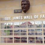 Latest additions to the Robbie James Wall of Fame