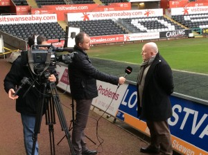 Supporter Director Huw Cooze speaks to Sky Sports News