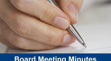 Minutes of Trust Board monthly meetings are available on line